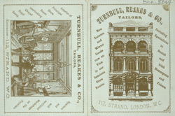 Advert for Turnbull, Reakes & Co, tailors